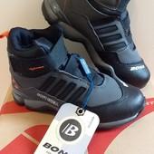 В наличии 31,32,33р! Фирменные зимние ботинки BONA, серые и синие
