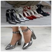 Кожаные туфли. Распродажа последняя пара р. 38