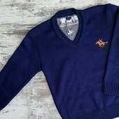 Пуловер вязаный для ребят, 4-9л и 10-15л, Турция! Цвета! Качество! Сбор!