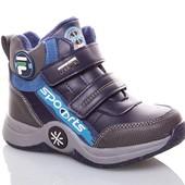 Сп. Демисезонные ботинки для девочки и мальчика. Размеры 27-37 .