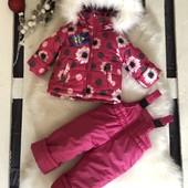 Новинки зимней детской одежды, р.86-116