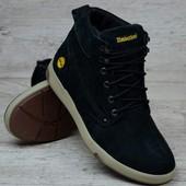 Мужские зимние ботинки Timberland из натуральной Замши в наличии 44 размер