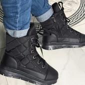 Женские непромокаемые ботиночки Распродажа на складе очень теплые 36 38 и 39 Бронируем и выкупаем