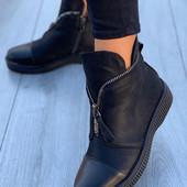 Демисезонные и зимние женские ботинки ,внутри евромех,р-р 36,37,38,39,40Все в наличии!!!
