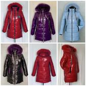 Зимові курточки для дівчаток 3 моделі