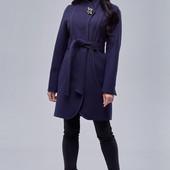 Недорогие кашемировые пальто на подкладке, р 44-54, фабрика производитель Украина