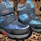 Очень теплые термо ботинки Jong.Golf 32,35 р Качество шикарное.!Последние!