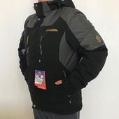 Куртка зимняя мужская, лыжная с omnitech