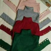 Гольф водолазка кофта свитер реглан с кружевом