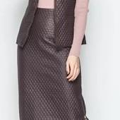 Распродажа! Стеганые жилеты, юбки короткие и юбки длинные на р. 42-44-46-48-50-52-54