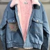 Джинсовые куртки на меху