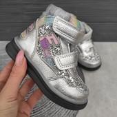 Замечательные демисезонные ботиночки для маленьких модниц 22-27