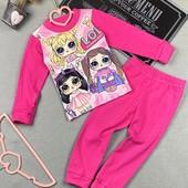 Яркие пижамки девочка /мальчик -рост 98/122-выкуп пятница