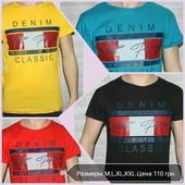 Большой выбор мужских футболок от S-6XL.