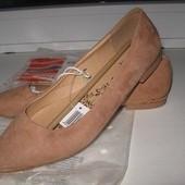 Балетки туфли esmara размеры 36,37,38,39,40,41