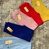 Супер цена на цвет пудра!Акция!Летние джинсы в размерах 48-64!