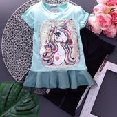 Летняя одежда для девочек, Турция