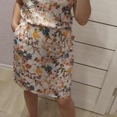 Платье штапель р 44-56