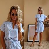 Платье-рубашка 46-52