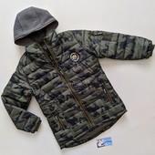 Курточка и камуфляжная парка демисезонная. Grace. Венгрия. р-ры 140-170