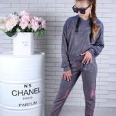 Спортивный костюм для стильных девочек. Разсеры 140-164см