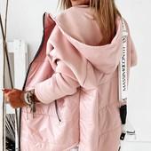 Куртка на флисе + плащевка