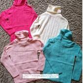 Новинка! Теплый гольф-свитер для девочек и подростков champion 128-164. ОТличного качества.