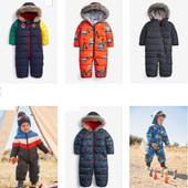 NEXT зимний крутой комбинезон до7лет до минус 25С мороза для мальчиков