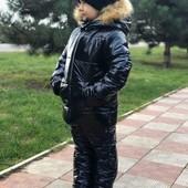 ~ Детские зимние костюмы, тёплые. Фото реальные.~