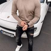 Хит продаж !Качественный мужской шерстяной свитер.