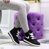 Стильные зимние женские ботинки кроссовки, дутики, р. 36-39