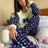 Женская пижама флис+махра