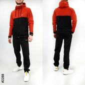 НовинкаМужской спортивный костюм на флисе с термопринтом Nike.