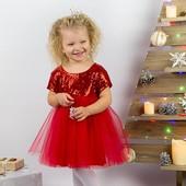 Нарядное пышное платье 80-110
