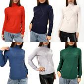 Заказываю, присоединяйтесь✨Новинка.✨Кашемировые, мегастильные женский свитер-гольф. Качество супер!