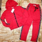 Спортивный костюм двойка с начесом для девочек glo-story 134-164р.р