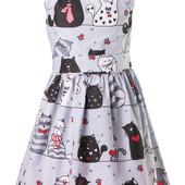 Детские хлопковые платья в ярких расцветках