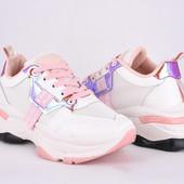 Крутые кроссовочки на модной подошве!