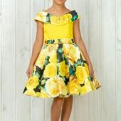 Платье в ретро стиле на выпускной в садик 6-7 лет