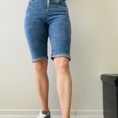 Жіночі джинсові шорти і бріджи, рр 44-50.