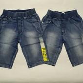 Джинсовые бриджи для мальчика р.134-164