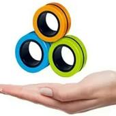 Тренд 2021 года!Магнитные кольца антистресс Спиннер фингирс spinner Магнитный спиннер.Много игр!