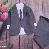 Нарядные костюмы и костюмы тройки для девочек и мальчиковсбор, остатки