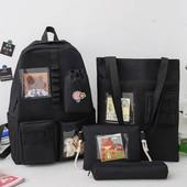 Набор рюкзак 4в1 идеальный вариант для школы и прогулок!