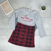 Теплые платьица, кофточки для девочек,для сада и на праздники, быстрый сбор, остатки