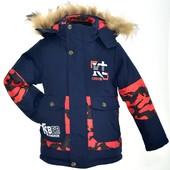 Зимние куртки для мальчиков. Размеры 86-122